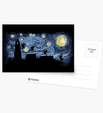 Starry Fight Postcards