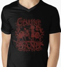 Genuine Band Men's V-Neck T-Shirt