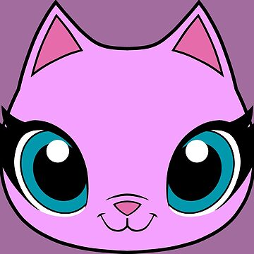 Kitty Face - Pink by Verona7881