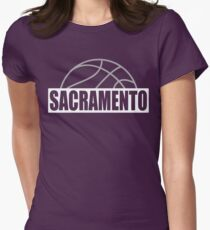 Sacramento Women's Fitted T-Shirt