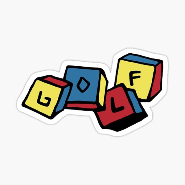 GOLF Blocks | Tyler The Creator Sticker