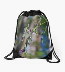 In Defiance of Winter Drawstring Bag