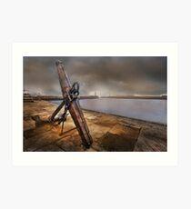 Whitby Harbour - Yorkshire Art Print
