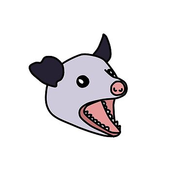 Opossum scream by jijiru