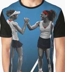 Serena & Venus Williams Tennis Graphic T-Shirt