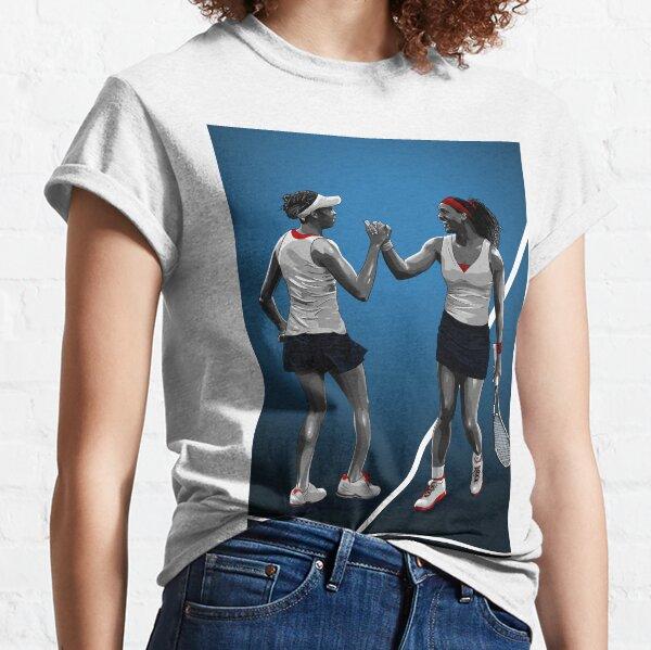 Serena et Venus Williams Tennis T-shirt classique