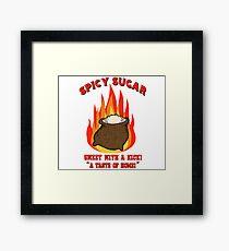 Spicy Sugar Framed Print