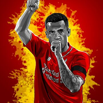 Philippe Coutinho - Liverpool by barrymasterson