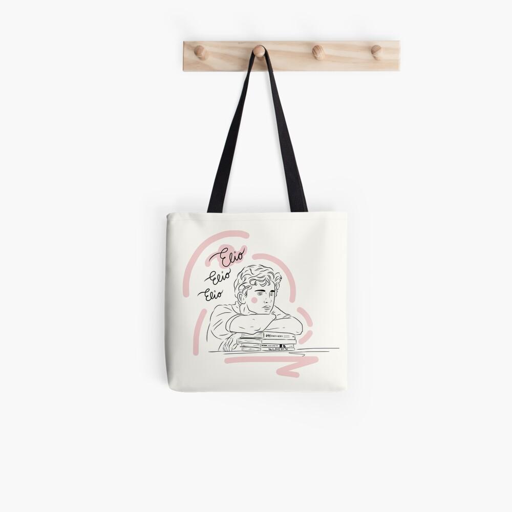 Elio Elio Elio (Rufen Sie mich durch Ihren Namen) Illustration und Kalligraphie Tote Bag