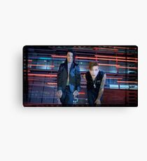 Falling In Reverse: Andy & Ronnie (Bad Girls Club) Canvas Print