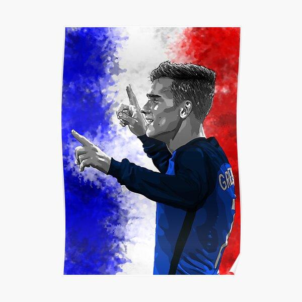 Antoine Griezmann Francia - Euro2016 Póster