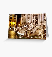 Trevi Greeting Card