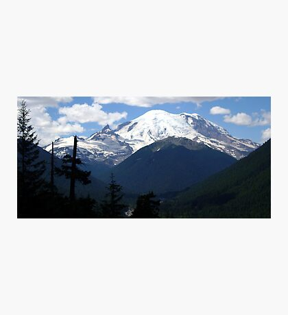 Mt. Rainier Across the Valley Photographic Print