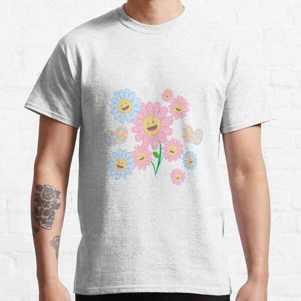 Springy Happy Flowers Classic T-Shirt