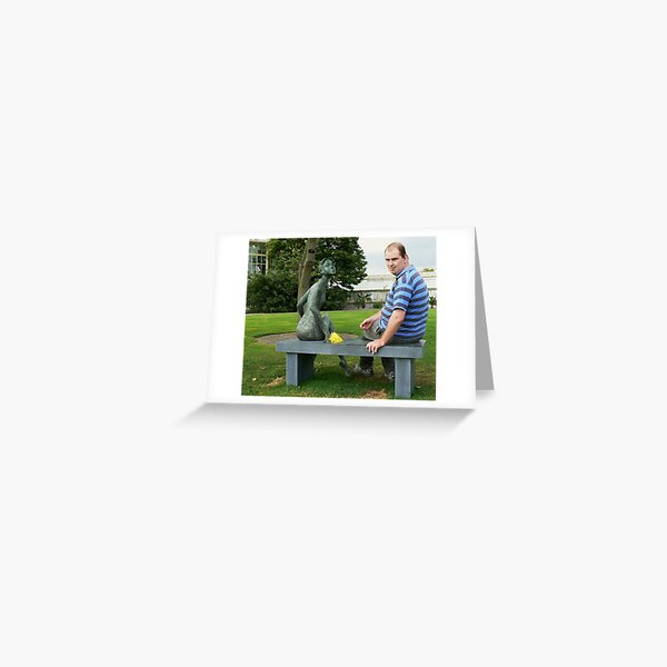 Seating around Greeting Card