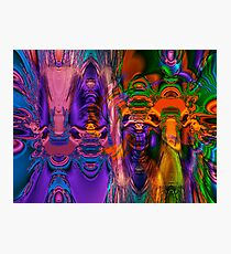 Fractal Funhouse Photographic Print