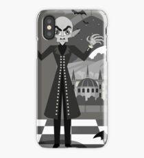 evil bald vampire iPhone Case