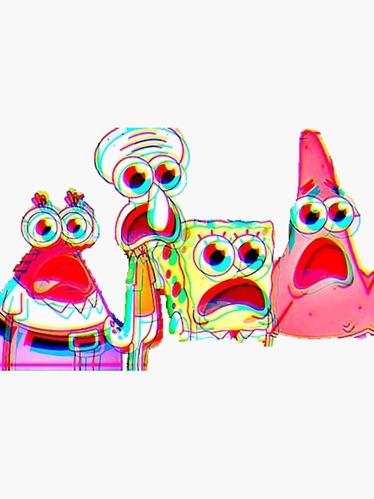 Trippy Spongebob by rachelhay