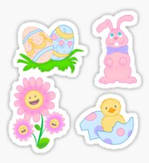 Spring into Easter Sticker