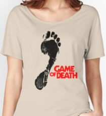 Game of Death footprint Women's Relaxed Fit T-Shirt