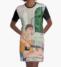 Call me by Your Name Drawing - Elio  Graphic T-Shirt Dress