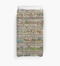 The whole Gabeaux Tapestry - story of Outlander Duvet Cover