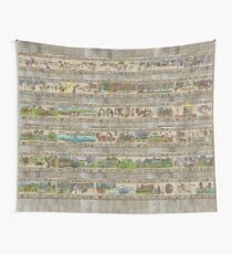 The whole Gabeaux Tapestry - story of Outlander Wall Tapestry