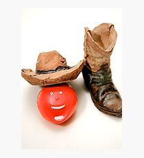"""""""Comedy Cowboy Round-Up"""" Photographic Print"""