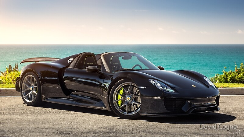 porsche 918 spyder gifts merchandise redbubble. Black Bedroom Furniture Sets. Home Design Ideas