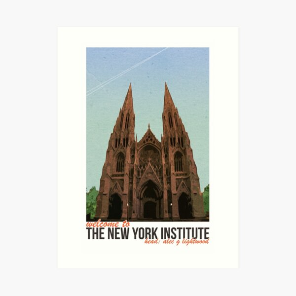 Welcome To The Institute Art Print