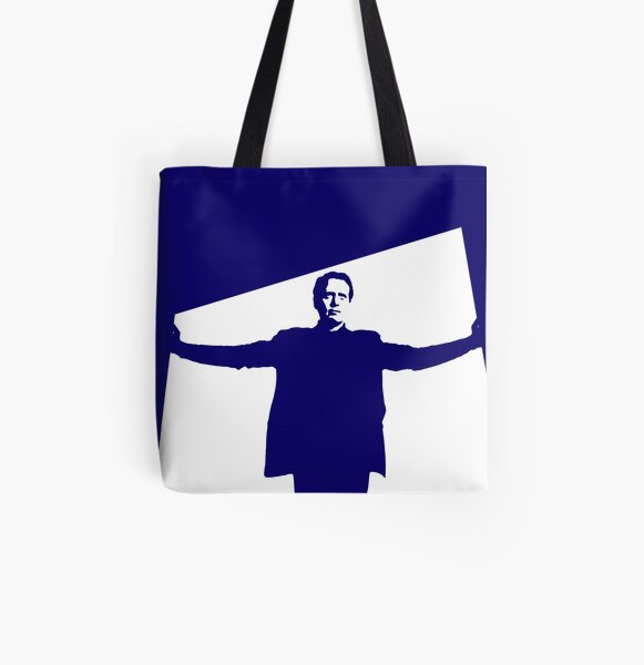 I will not be pushed, filed, stamped, indexed, briefed, debriefed, or numbered All Over Print Tote Bag