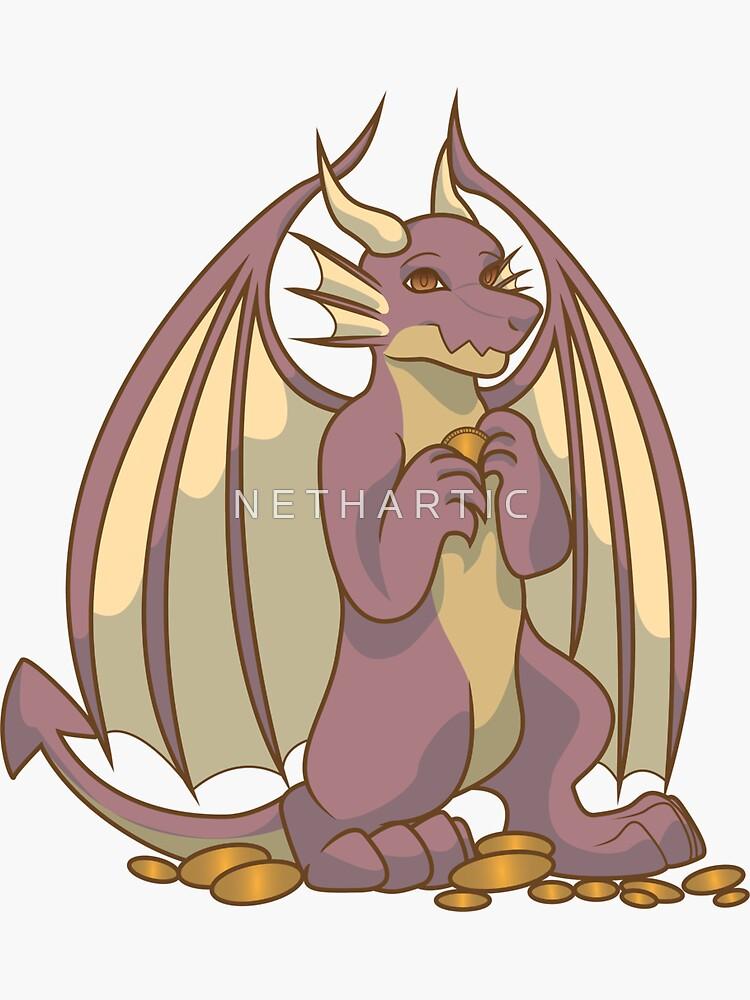 Dragon Sticker by Bolteybolt