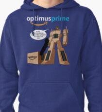 Optimus Prime Pullover Hoodie
