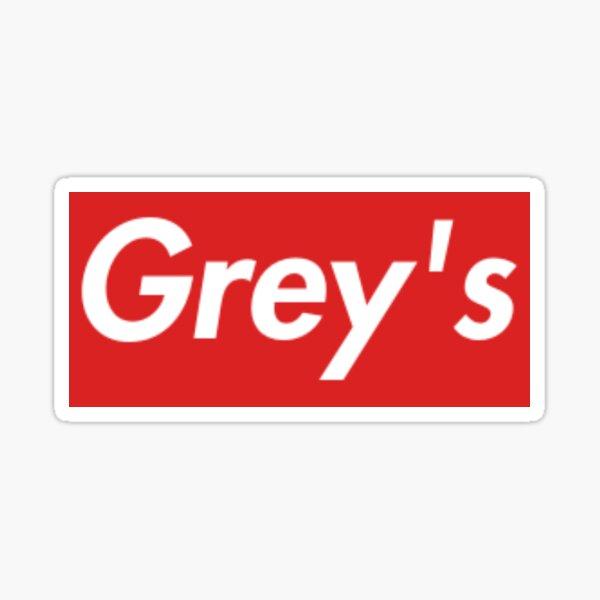 greys red Sticker