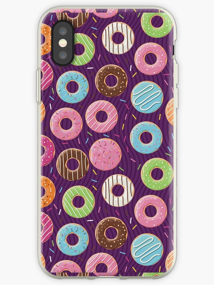 10252da119 Iphone Android Phone Cases Donuts Phone Case