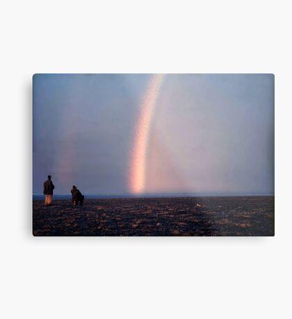 Arctic Rainbow Metal Print