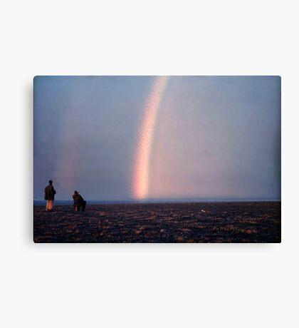 Arctic Rainbow Canvas Print