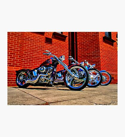 """Harleys at Heaven's Door"" Photographic Print"