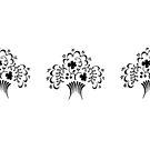 ornamental flower bouquet  by coralZ