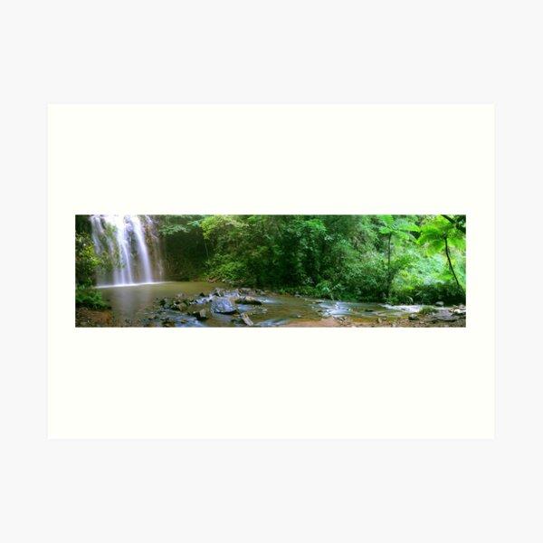 Ellinjaa Falls near Cairns, Queensland Art Print