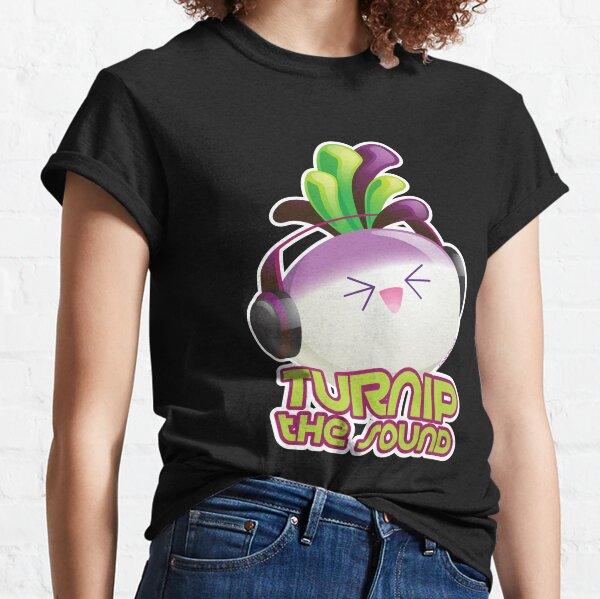 Cute Electronic Dance Music Turnip Pun Classic T-Shirt