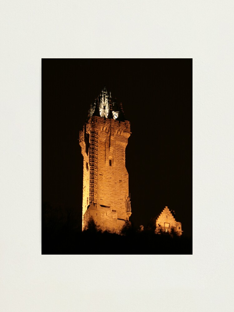 Alternate view of wallace  monument Photographic Print