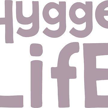 Hygge Life Mug by blackunicorn