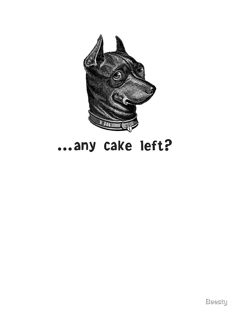 Any Cake Left? Dog's Head by Beesty