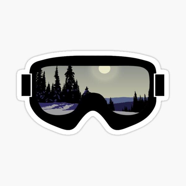 Morning Goggles   Goggle Art   DopeyArt Sticker