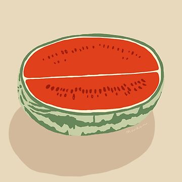 watermelon half by morden