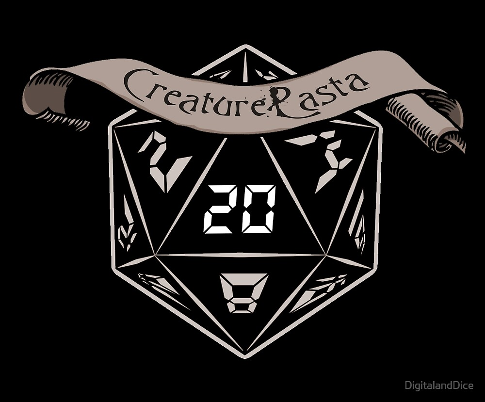 CreaturePasta  by DigitalandDice