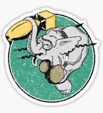 WW2 404th Bombardment Squadron Patch Distressed Gear Sticker