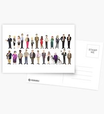 The Employees Of Dunder Mifflin Scranton Branch The Office Postcards