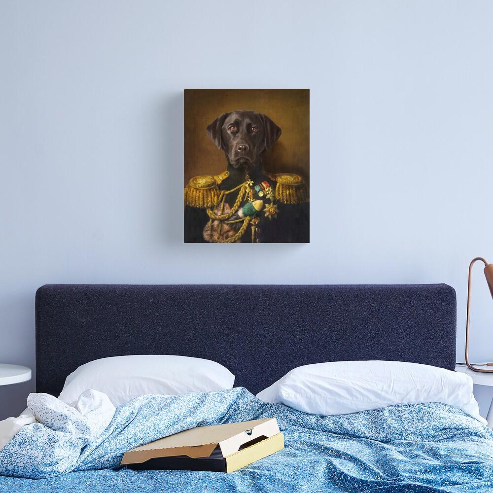 Labrador Portrait - Mambo Canvas Print